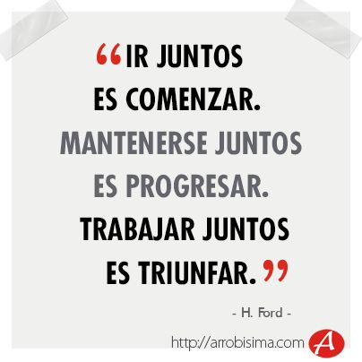 equipo frase